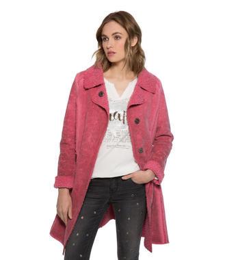 Růžový kabát Soccx