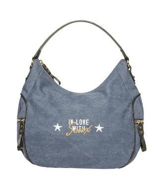 Plátěná kabelka 40203 2500 S24 blue