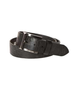 Kožený pásek 999-6129 black