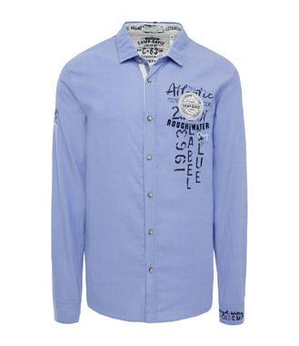 Modrá košile Camp David Rough Waters