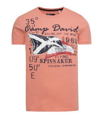 Tričko CCB-1800-3037 faded orange