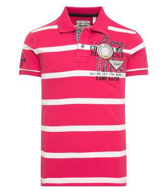 Polo Tričko CCB-1806-3617 Pink