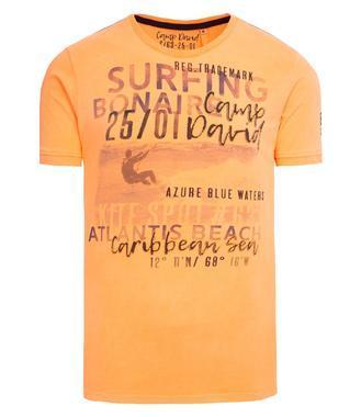 Tričko CCB-1903-3351 neon orange
