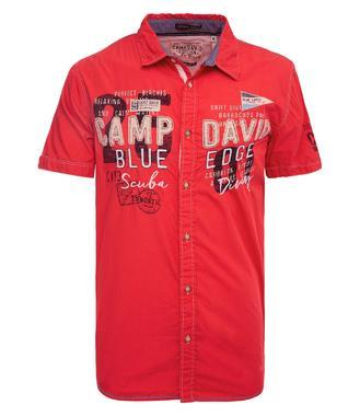 Košile CCB-1904-5377 red sun