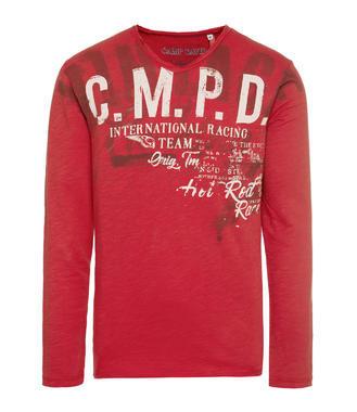 Tričko CCD-1807-3855 vintage red