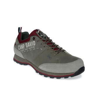 Outdoorové boty Camp David v barvě khaki