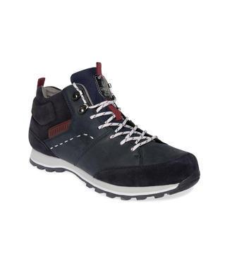 modré kožené boty Camp David