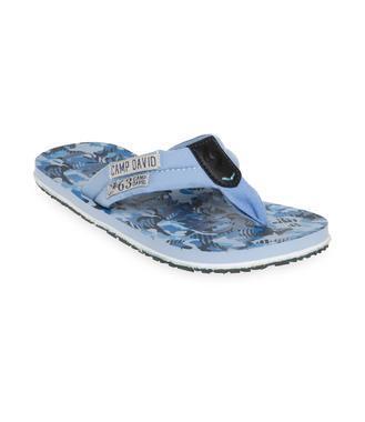 Plážové žabky CCU-1900-8617 blue stone