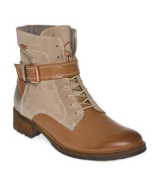 Kožené boty SCU-1755-8945 cosy beige