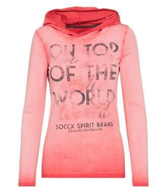 Tričko SPI-1809-3905 creamy red
