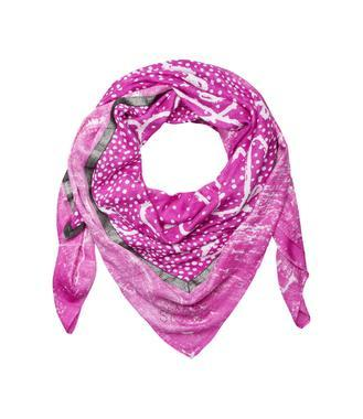 růžový šátek STO-1712-8155
