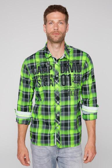 Košile CB2108-5206-21 neon lime|M - 1