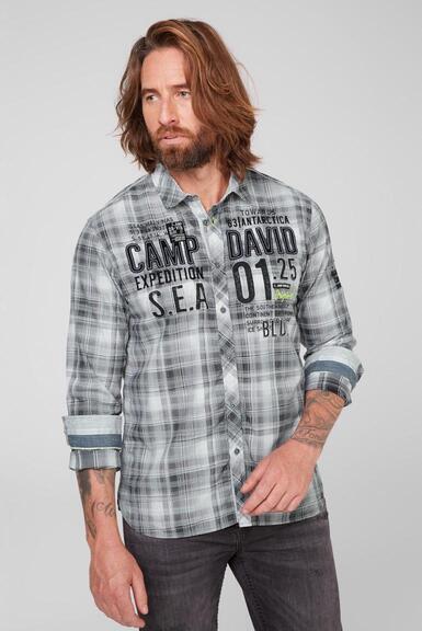 Košile CB2108-5206-22 anthra|XL - 1