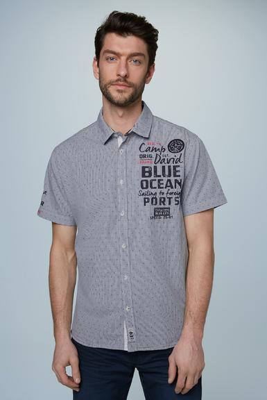 Košile CCB-2002-5639 cliff grey|S - 1