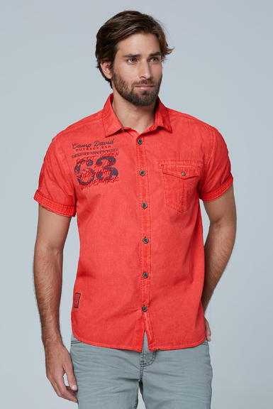 Košile CCG-2003-5713 red orange|M - 1