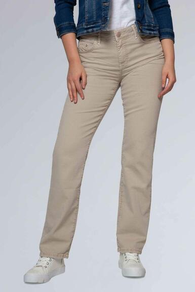 Džínové kalhoty SDU-1900-1455 beige|31 - 1