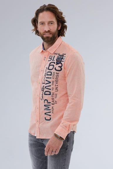 Košile CCB-1908-5009 mission orange|S - 1