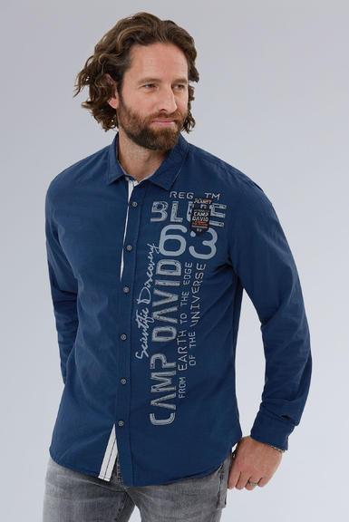 Košile CCB-1908-5009 space navy|S - 1