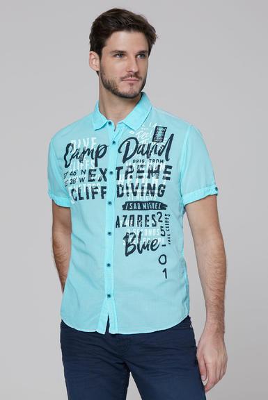 Košile CCB-2004-5677 fresh aqua|S - 1