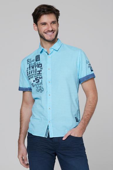 Košile CCB-2004-5678 fresh aqua|S - 1