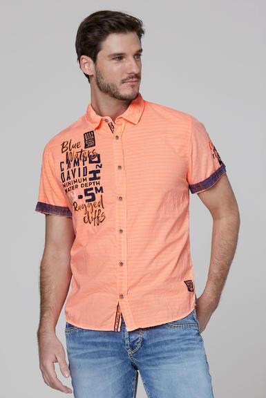 Košile CCB-2004-5678 neon orange|S - 1