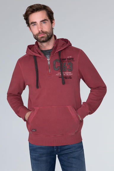 Mikina CCG-1910-3074 maroon red|M - 1