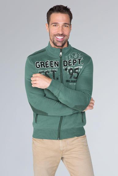 Mikina CCG-1910-3075 grey green|L - 1