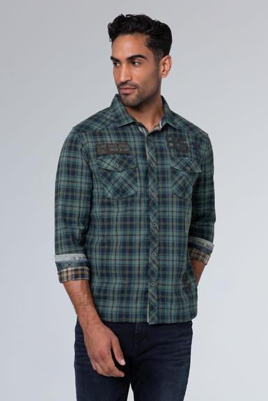 Košile CCG-1910-5082 grey green|S - 1
