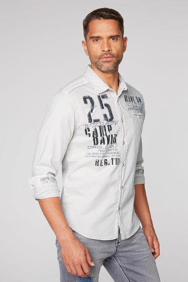Košile CCG-2009-5342 silvery|XXXL - 1