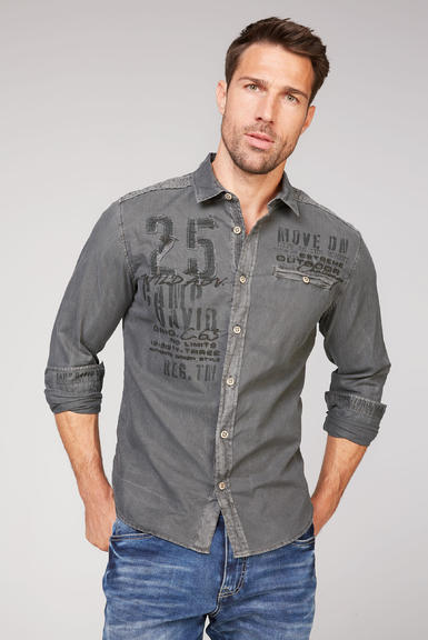 Košile CCG-2009-5342 stone brown|L - 1
