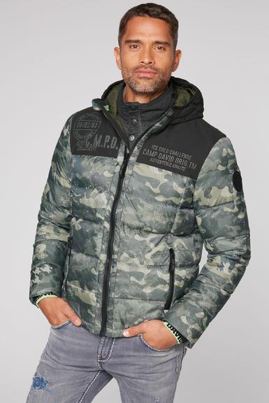 Péřová bunda CCG-2055-2362 khaki|XL - 1