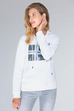 sweatshirt wit SCU-1955-3022 - 1/7
