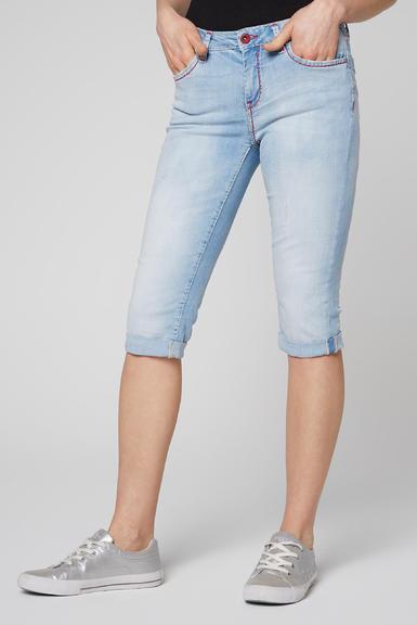 Džínové 3/4 kalhoty SDU-2000-1868 sunny bleached|28 - 1