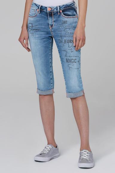 Džínové 3/4 kalhoty SDU-2000-1870 medium blue|28 - 1