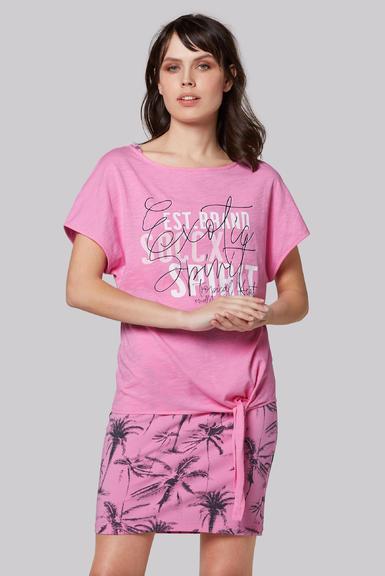 Šaty 2 v 1 SPI-2003-7809 lush rose|XS - 1