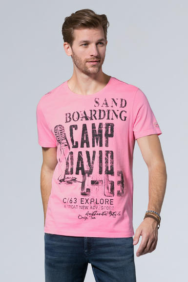 tričko ccu-1900-3953 neon pink|S - 1