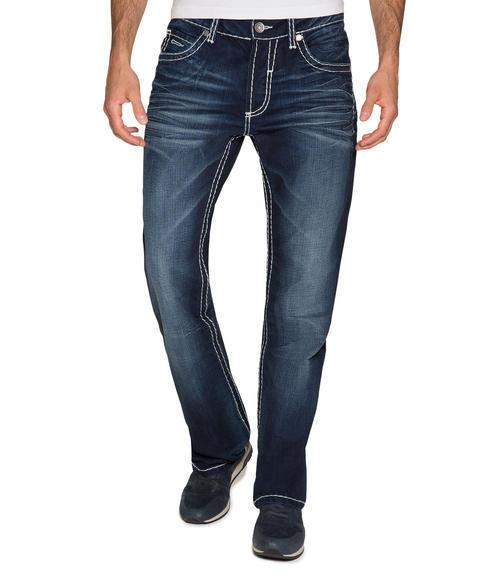 Tmavě modré džíny 999-6406 34 - 1