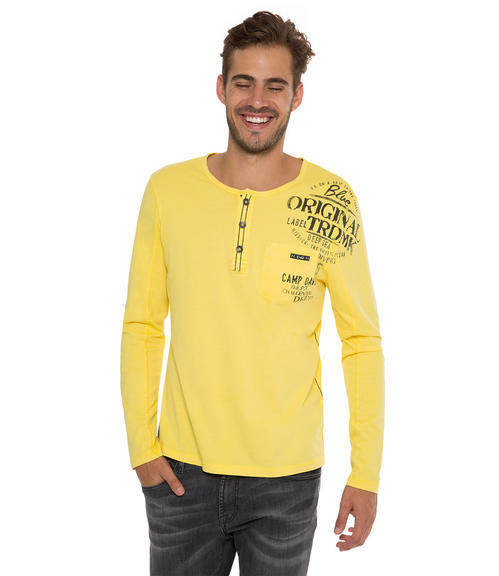 Tričko CCB-1709-3738 industrial yellow|XL - 1