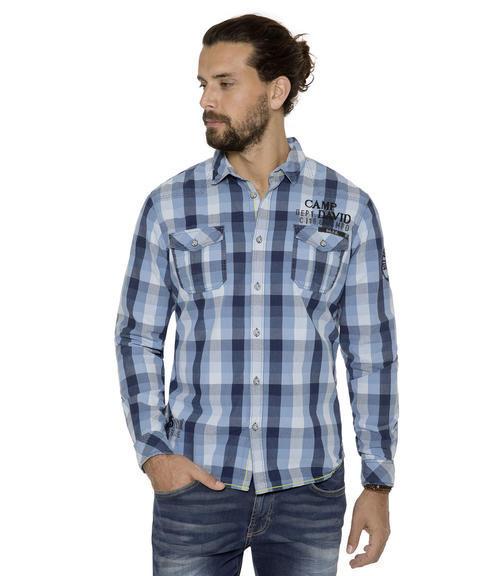 Košile CCB-1709-5751 indigo|S - 1
