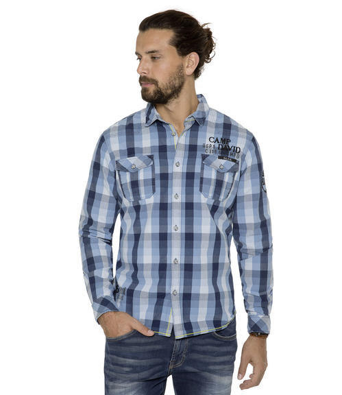 Košile CCB-1709-5751 indigo|XXXL - 1