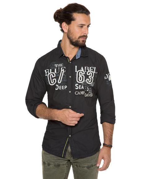 Košile CCB-1709-5753 black|XXL - 1