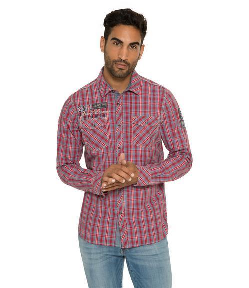 Košile CCB-1809-5777 royal red|M - 1