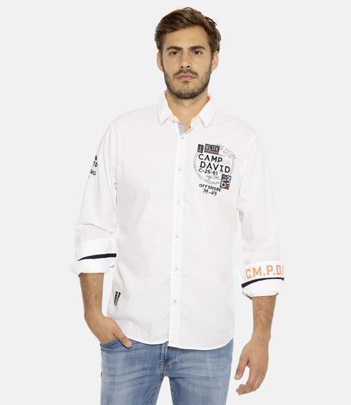 košile CCB-1811-5082 optic white|XL - 1