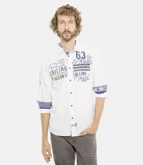 Košile CCB-1901-5098 optic white|L - 1