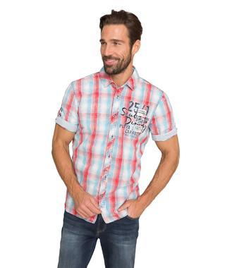 shirt 1/2 chec CCB-1904-5378 - 1/5