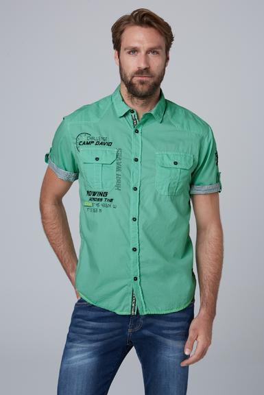 Košile CCB-1912-5429 azure|S - 1