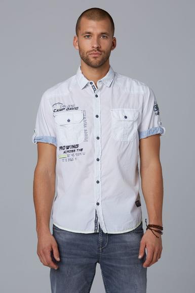 Košile CCB-1912-5429 opticwhite|M - 1