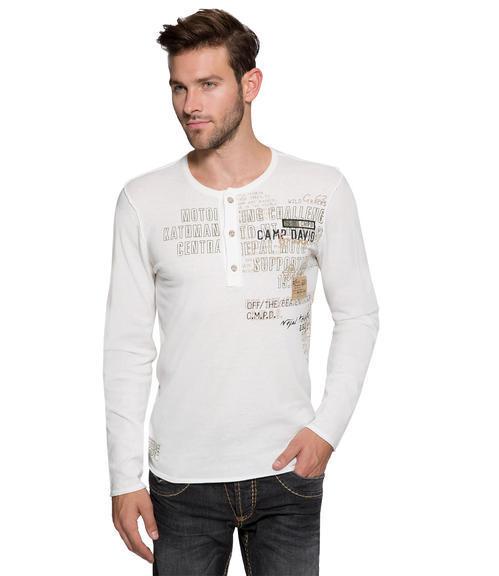 Vzdušný bílý svetr|M - 1