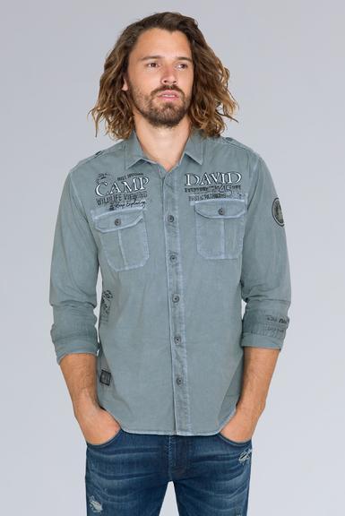 Košile CCG-1908-5064 fog blue S - 1