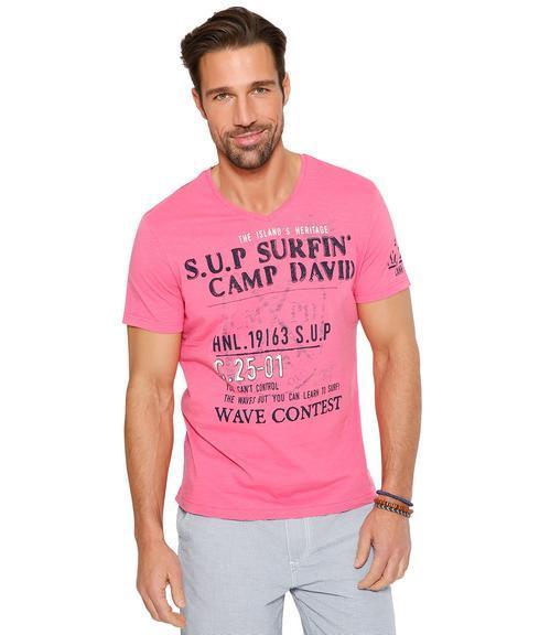 Tričko CCU-1855-3596 deep pink|XXL - 1